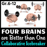 Four Brains are Better than One - Collaborative Ice Breaki