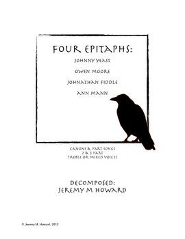 Four Epitaphs