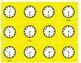 Four Games for Teaching Time (O'Clock,  Half Past, Quarter