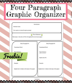 Four Paragraph Essay Graphic Oraganizer