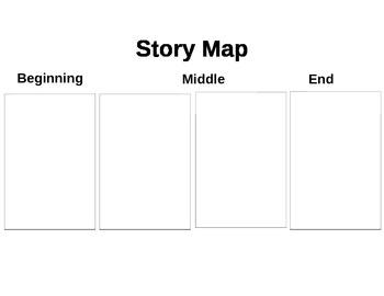 Four Part Story Map Grades 1st & Up