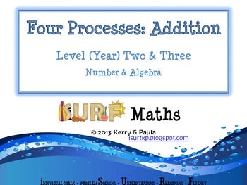 Four Processes - Addition - Level 2 & 3