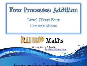 Four Processes - Addition Level Four
