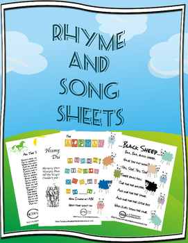 Four Rhymes and a Song!