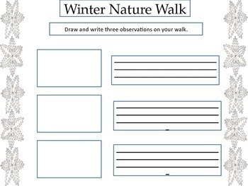 ESL Activity: Four Seasons Nature Walks-Early Primary and