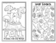 Four Seasons Puzzle Mini Books for Fifth Graders