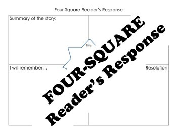 Four-Square Reader's Response