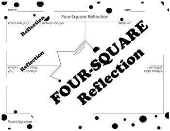 Four-Square Reflection