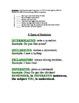 Four Types of Sentences Lesson Plan