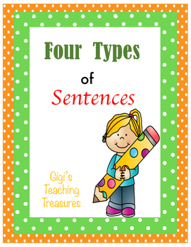 Four Types of Sentences Packet