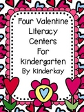 Four Fabulous Valentine Literacy Centers