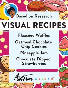Four Visual Recipes for Youths with Autism/Special Ed Clas
