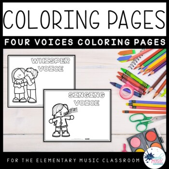 Four Voices Coloring Pages