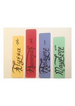 Four bookmarks