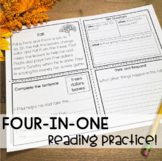 Reading Comprehension / Fall /  Back to School