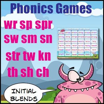 Initial Blends Games - {sw, sm, sn, wr, sp, spr, str, tw,