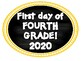 Fourth Grade Back to School Photo Booth 2016