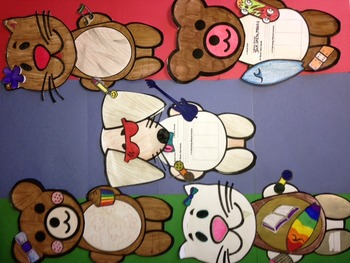 Book Report Grade 4 Cut Out Animals with Personalized Templates