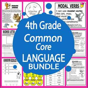 4th Grade Language Bundle
