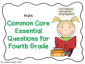 Fourth Grade Common Core Math Essential Questions