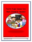 Fourth Grade Common Core Math Standards Checklist