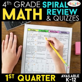 4th Grade Math Homework 4th Grade Morning Work for 1st Qua