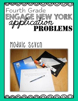 Fourth Grade Engage NY Eureka Application Problem Strips M