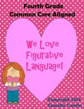 Fourth Grade Common Core Figurative Language Packet (Valen