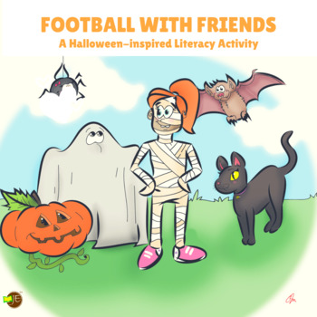 Fourth Grade Halloween Comprehension Lesson (Passage & Ans