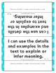 I Can Statement Posters Fourth Grade CC ELA {I Can Stateme