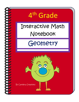 Fourth Grade Interactive Common Core Math Notebook - Geometry