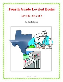 Fourth Grade Leveled Books:  Level R - Set 3