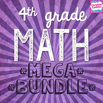 Fourth Grade Math MEGA Bundle