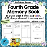 Memory Book * Tales of a Fourth Grade Someone (Half Sheet)
