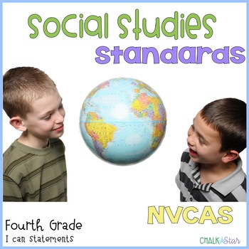 Social Studies Standards Fourth Grade Nevada