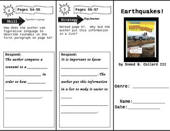Fourth Grade Reading Wonders Unit 1 Week 3 Anthology Tri-Fold