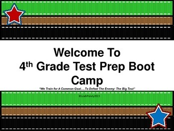 Fourth Grade Review Math Boot Camp