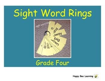 Forth Grade Sight Words