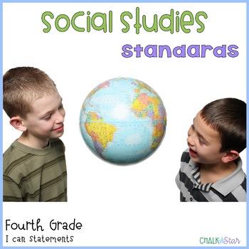 Social Studies Standards Fourth Grade
