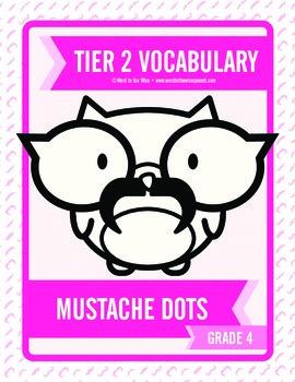 Fourth Grade Tier 2 Mustache Dots