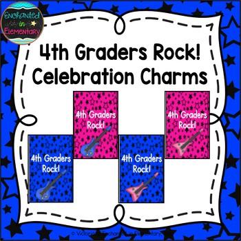 Fourth Graders Rock! Brag Tags