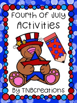 Fourth of July Language Arts Writing Activities