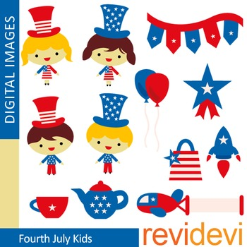 Fourth of July Clip Art