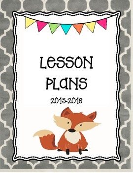 Fox Lesson Plans Cover