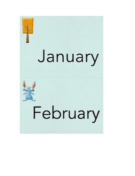 Foxy Felt Months of the Year and Days of the Week Printables