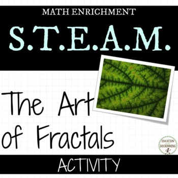 Fractals: Exploring the Art of Fractals Math Activity