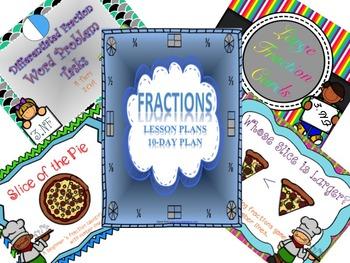 Fraction 10 Day Lesson Bundle