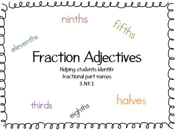 Fraction Adjectives