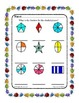 Fraction Basics with  Shapes -sheet 2 ~ One Work Sheet ~ M