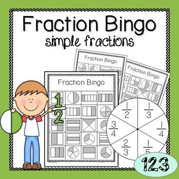 Fraction Game: Bingo
